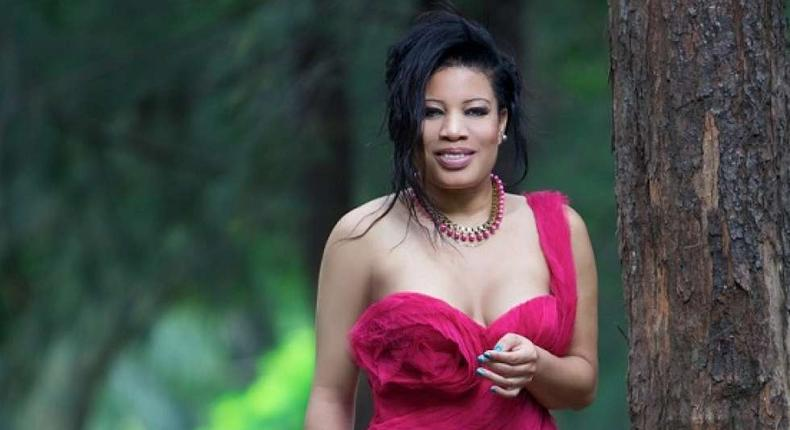 Monalisa Chinda narrates how her ex-husband beats her at every slightest opportunity for five years. [Monalisa Chinda]