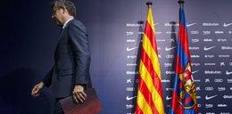 Prezes Barcelony podał się do dymisji!