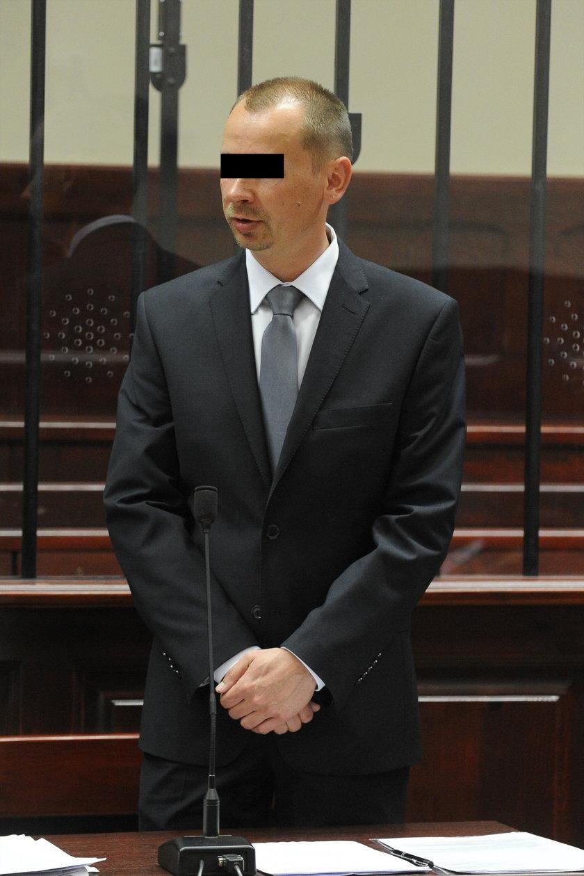 Oskarżony policjant przed sądem