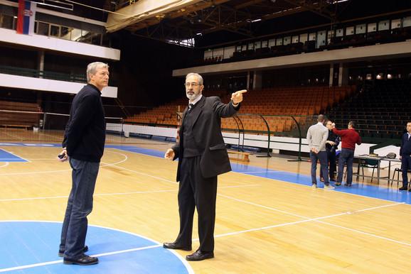 Obavljene su kontrole u dvoranama u Beogradu i Novom Sadu, koje će biti domaćini u Ligi nacija