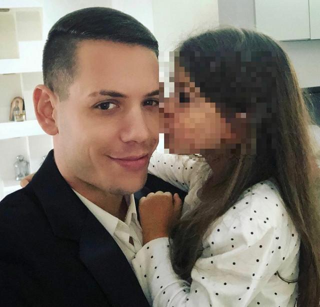 Bogdan sa ćerkom