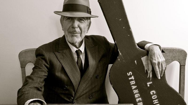 Leonard Cohen (fot. oficjalna strona internetowa artysty)