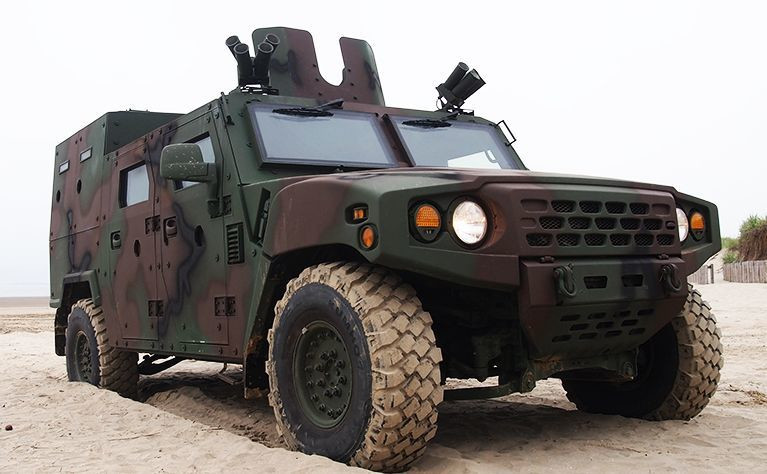 Kia KLTV182 - opancerzony pojazd rozpoznania