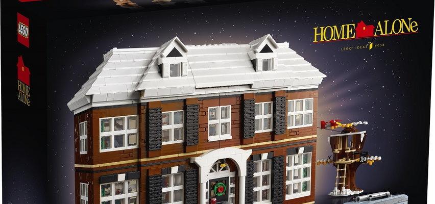 """""""Kevin sam w domu"""" w formie klocków Lego. Specjalny zestaw na święta Bożego Narodzenia!"""