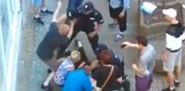 Policjanci opluci podczas interwencji. Byli bici i wyklinani!