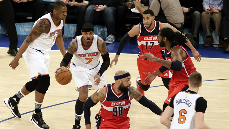 Washington Wizards wygrali na wyjeździe z New York Knicks