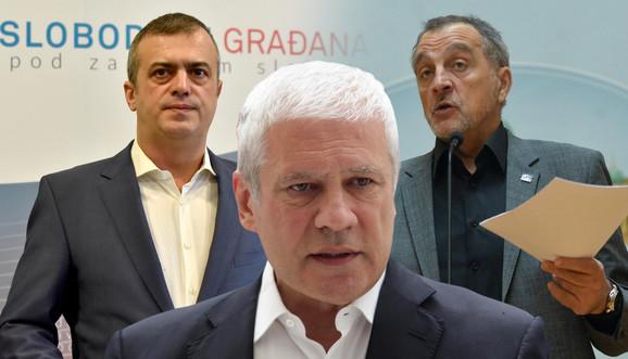 Tadić, Trifunović i Živković