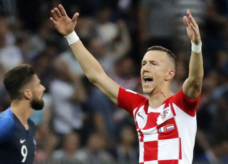 Ivan Perišić, fudbalska reprezentacija Hrvatske