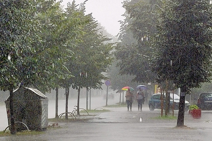 Kiša nevreme