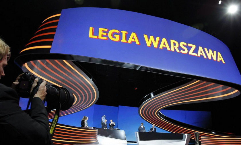 Legia losuje rywali w fazie grupowej LE