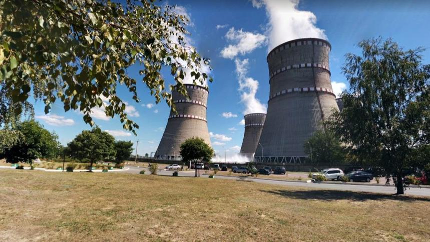 En svikt på atomkraftverket i Warasz