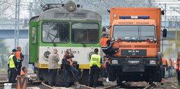 Wykolejony pociąg w Pruszkowie. Są utrudnienia