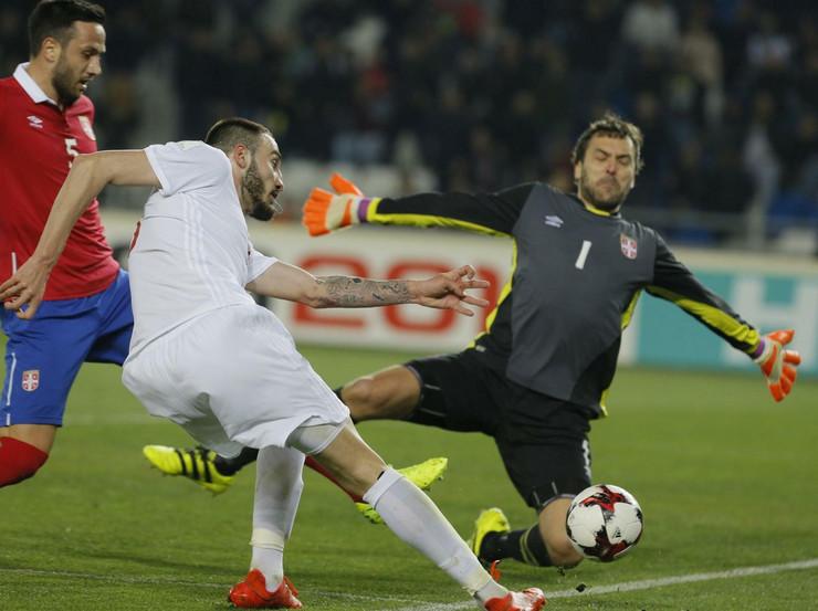 Fudbalska reprezetnacija Srbije, Fudbalska reprezetnacija Gruzije