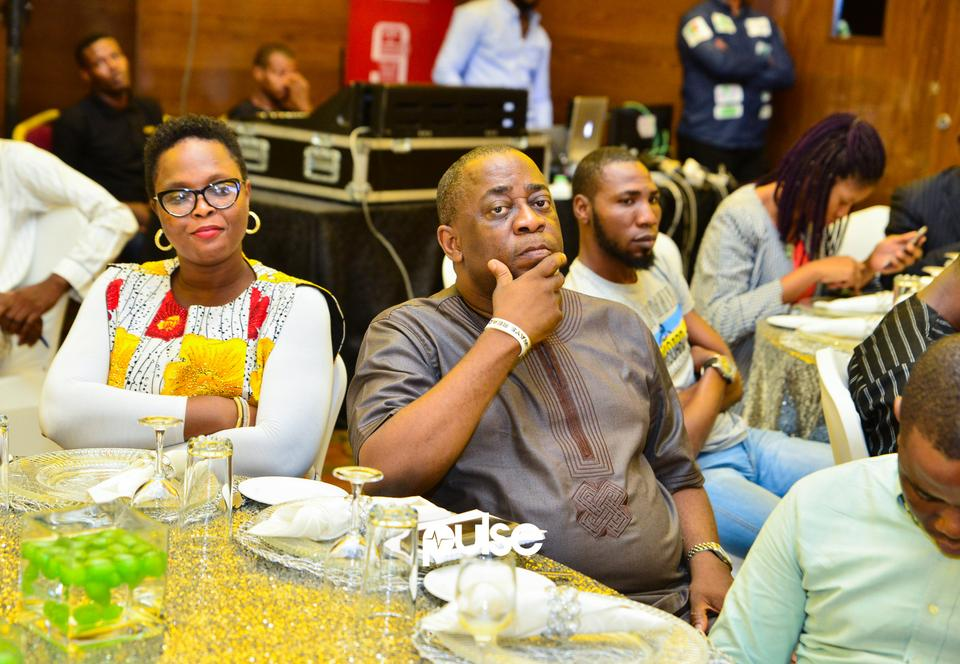 Guest at Glo unveil event which held at Eko hotel & suites, Victoria Island Lagos on Friday, February 1, 2019.