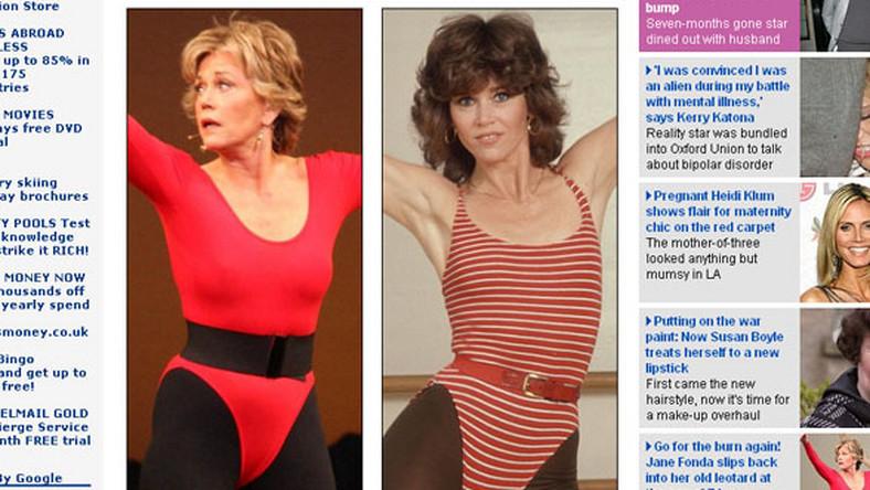 Jane Fonda nie zmienia się od 30 lat