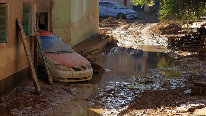 EGYPT-WEATHER-FLOOD