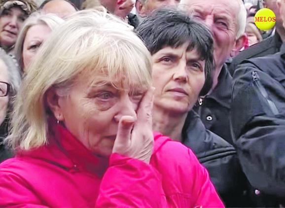 Na skupu su viđene i suze za omiljenog sveštenika