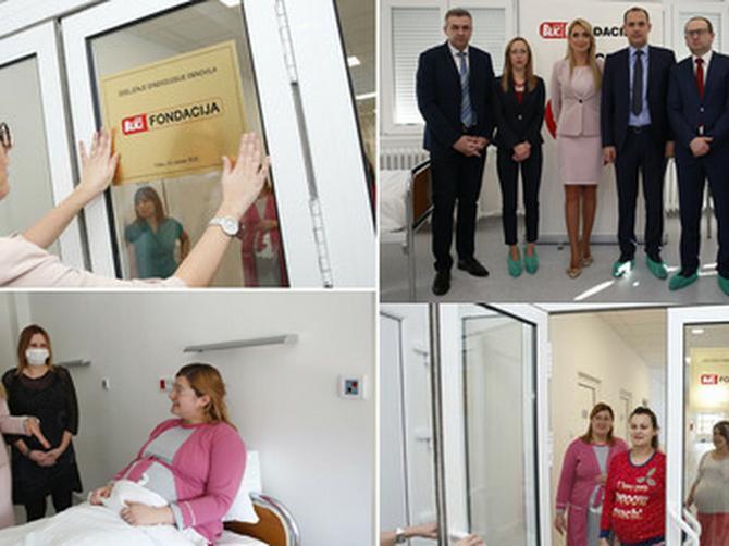 OTVORENO ODELJENJE GINEKOLOGIJE Trudnice u Vršcu više neće deliti jednu WC šolju, od danas borave u toplim i sređenim sobama (FOTO, VIDEO)