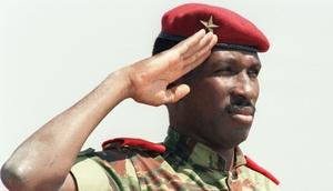 President of Burkina Faso Captain Thomas Sankara was assassinated along with 12 comrades in a putsch that brought his close friend Blaise Compaore to power