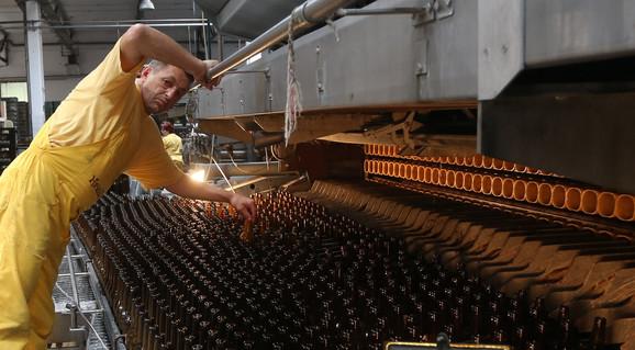 Na udaru i proizvodnja piva