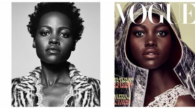 Lupita serves some serious melanin on the cover of Vogue Spain (Photos)