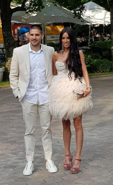 Aleksandar Mitrović i devojka