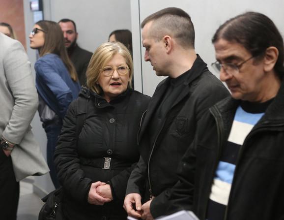 Zoran Marjanović na suđenju u Palati pravde