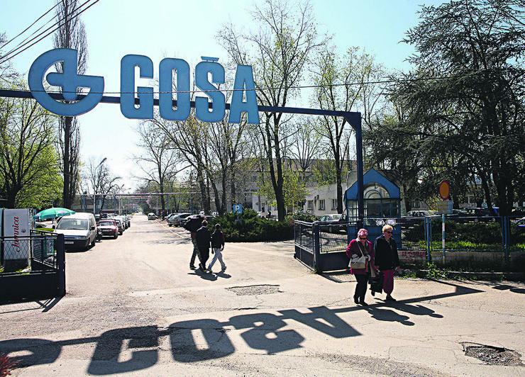 ulaz u fabriku Gosa