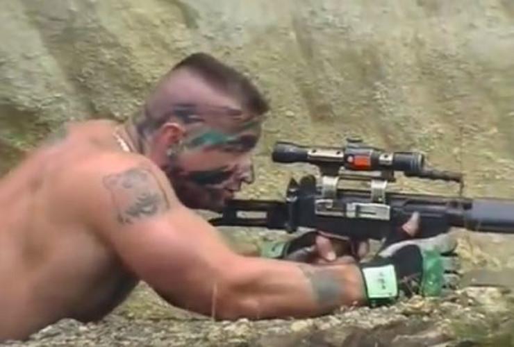 Cazinjanin Nedžad Klinčić Rambo