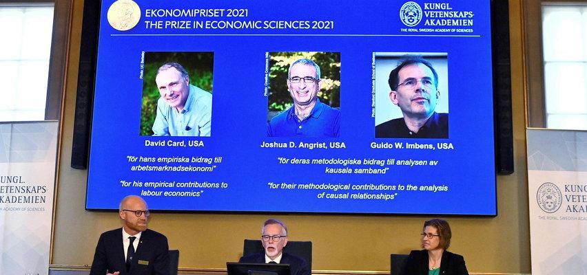 Nagroda Nobla z ekonomii. David Card, Joshua Angrist i Guido Imbens nagrodzeni