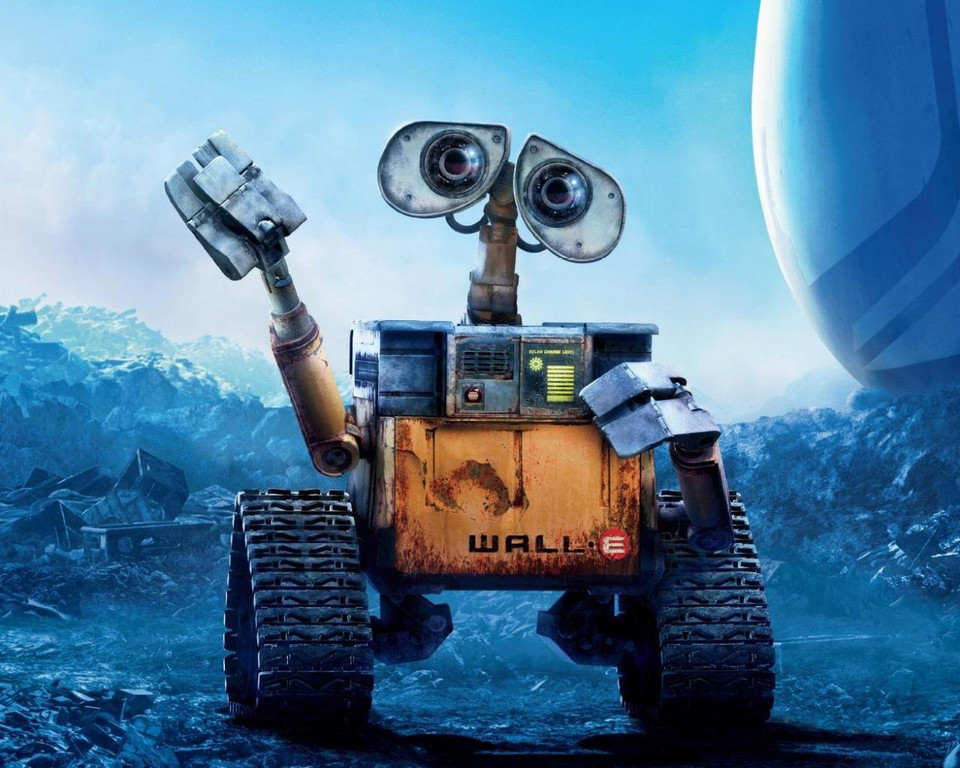 """WALL-E"", reż. Andrew Stanton, 2008 r."