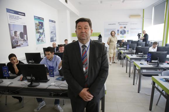 Radivoje Mitrović, dekan Mašinskog fakulteta