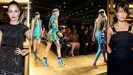 Co działo się na pokazie Versace dla H&M w Nowym Jorku?