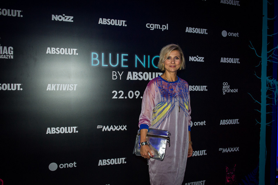 Blue Night By Absolut: Novika