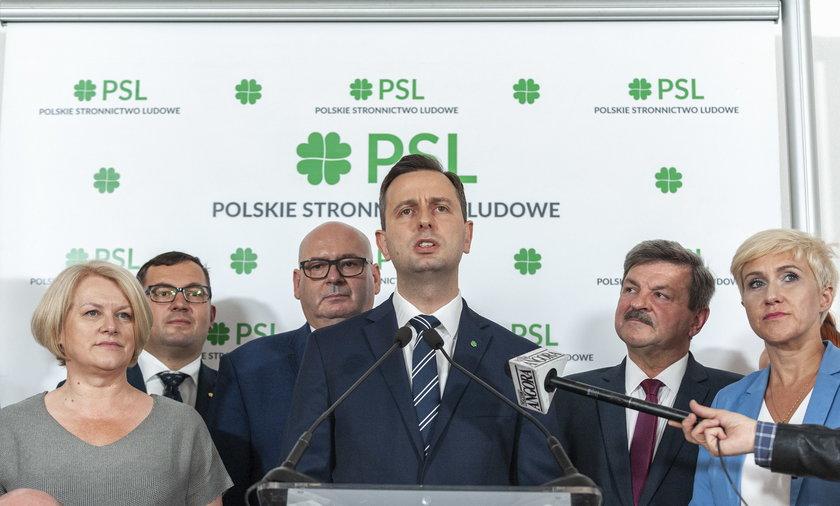 Marek Sawicki z PSL chce głosować za uchyleniem immunitetu Marianowi Banasiowi