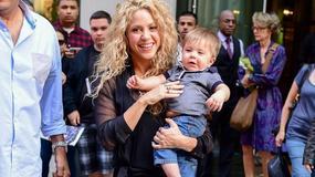 Shakira z uroczym synkiem w Nowym Jorku