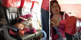 Skandal w samolocie. To, co zrobiła pasażerka, wyprowadziło innych z równowagi