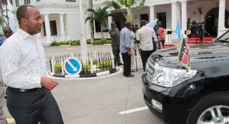 File image of Mombasa Governor Hassan Joho