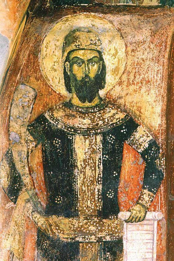 Marko Mrnjavčević - kraljevski portret