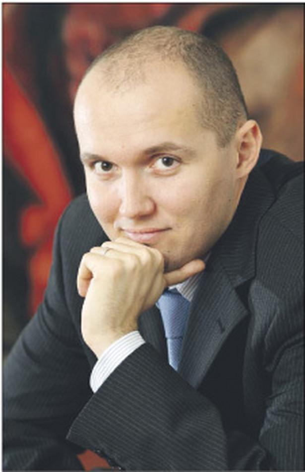 Michał Galejczuk, menedżer w Mazars Audyt, biuro w Krakowie Fot. Arch.