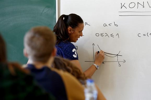 Mirjana Katić, Matematička gimnazija