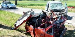 Makabryczny wypadek na Podlasiu. Trzy osoby nie żyją