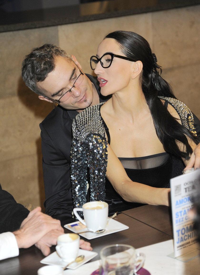 Justyna Steczkowska z mężem