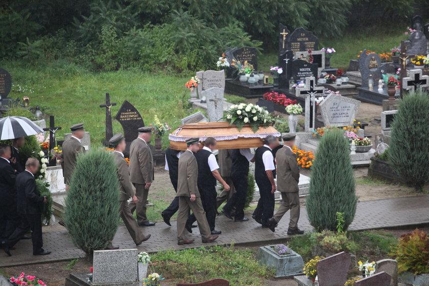 Justynę W. i jej synka pochowano w jednej trumnie