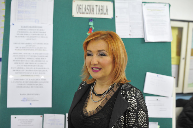 Prof. dr Nada Trifković u Medicinskoj školi u Beogradu