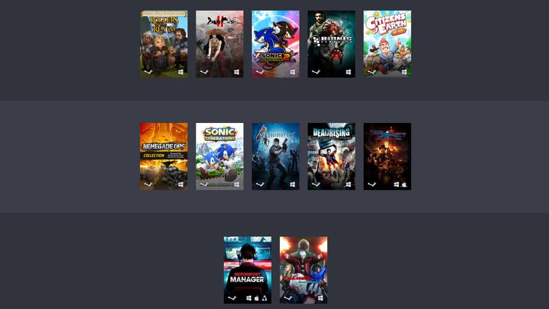 Humble Capcom Sega Altus Bundle - paczka gier za półdarmo od trzech wydawców