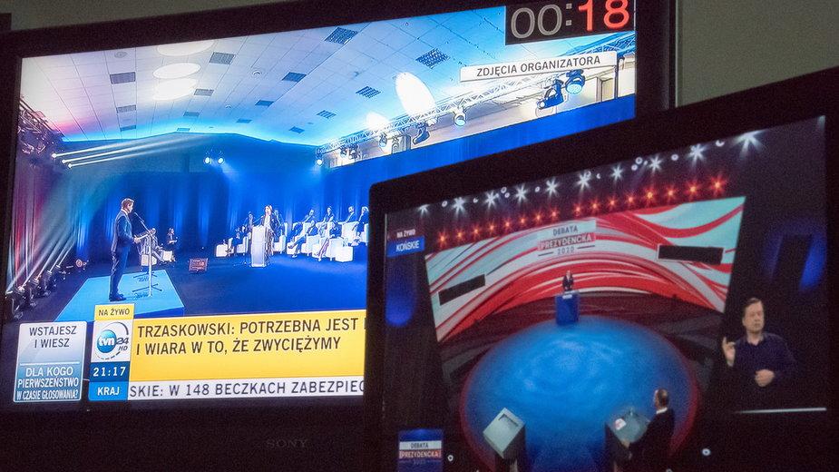 Wybory prezydenckie 2020.  Debata prezydencka. Kto zadawał pytania? Kontrowersje