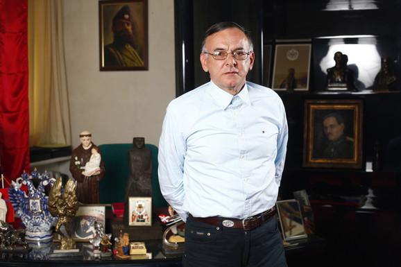 Ponosan na jubilej: Predsednik Metalca Boško Đukanović