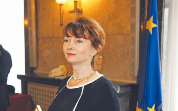 Anna Krasuska-Terrillon/ fot Arkadiusz Lawrywaniec