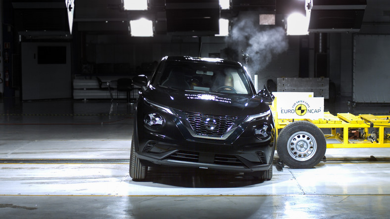 Crash-test: Nissan Juke